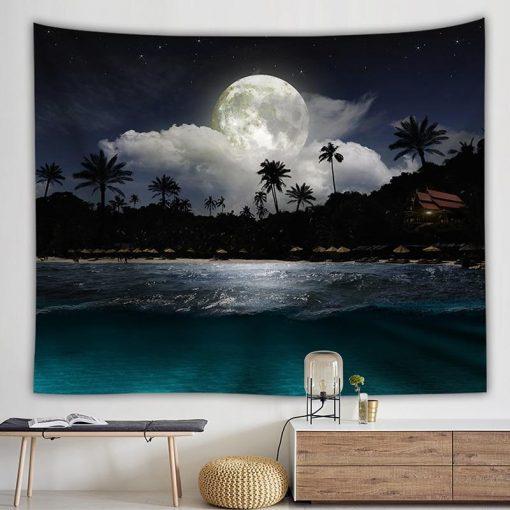 Nacht Wandbehang