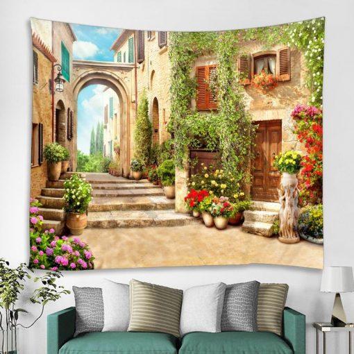 Dekorativer Wandbehang
