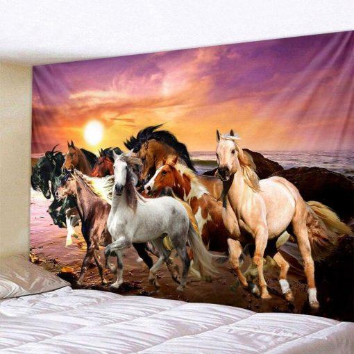 Pferd Wandbehang