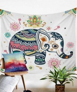 Mandala Elefant Wandbehang